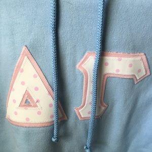 Gildan Tops - Delta Gamma Lettered Sweatshirt